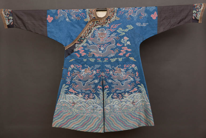 fa26cfc68 The collection of Chinese clothing from the Qing Dynasty - National ...
