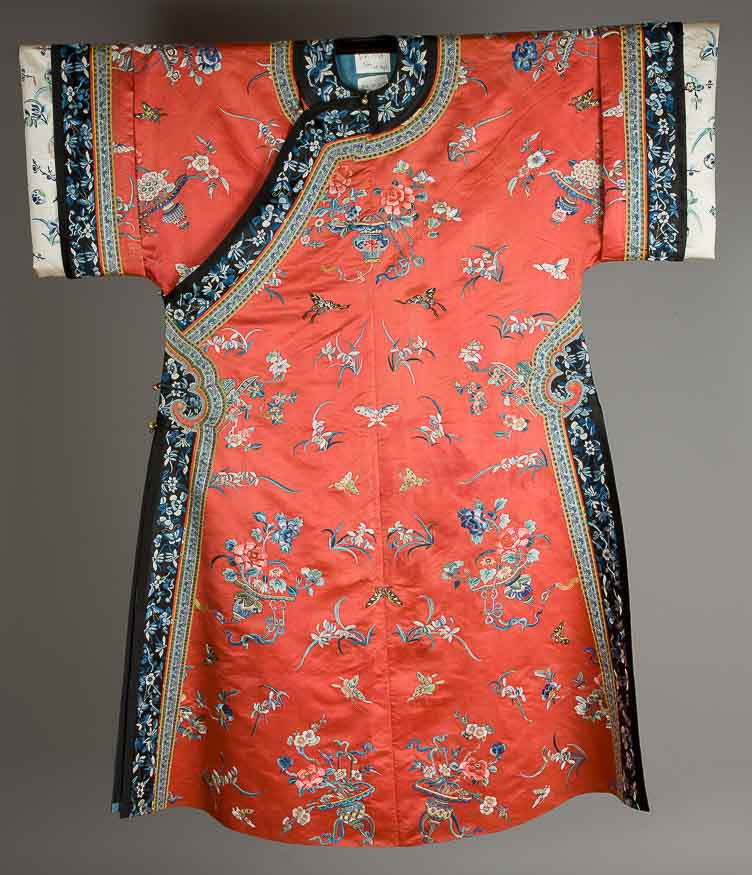 The Collection Of Chinese Clothing From The Qing Dynasty