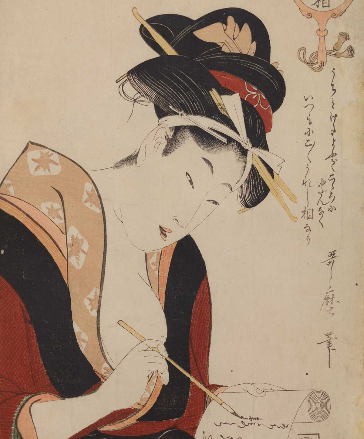 Images of Women in Japanese Painting and Woodblock prints